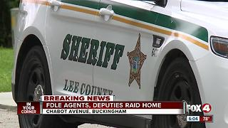 Law enforcement investigating home in Buckingham - Video