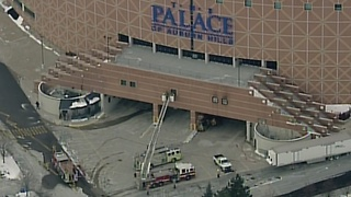 Fire reported at The Palace of Auburn Hills - Video
