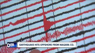Earthquake hits offshore from Niagara County - Video