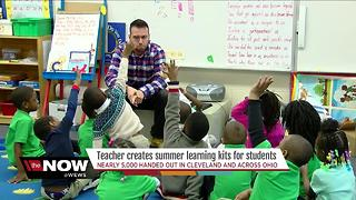 Kinder Kits: Cleveland kindergarten teacher creates kits to help boost summer learning - Video