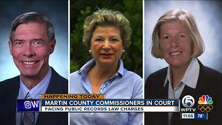 Commissioners get trial dates - Video