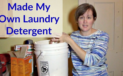 How to make chemical-free laundry detergent