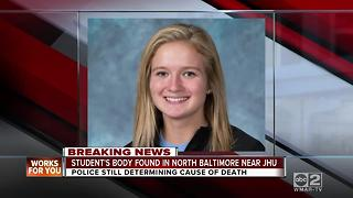 Police investigating death of Johns Hopkins student - Video