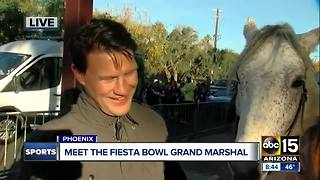 ABC15 talks with Shane Doan before the Fiesta Bowl parade