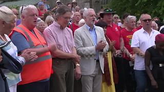 Labour leader Jeremy Corbyn attends Tolpuddle Martyrs rally - Video