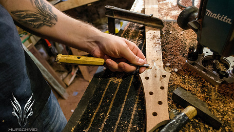 Time Lapse Shows The Making Of A Guitar In Only 6 Minutes