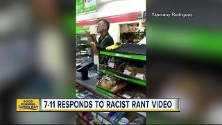 7-Eleven clerk caught on camera yelling at customer for speaking Spanish - Video