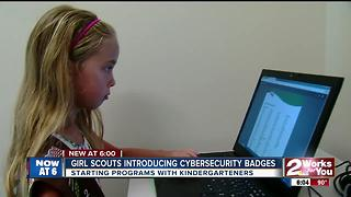 Girl Scouts introducing 'Cybersecurity' badges - Video