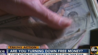 Those class-action lawsuits mean free money - Video