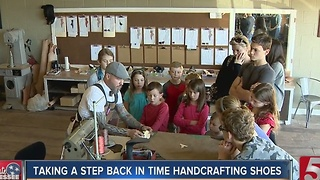 Art Of Handcrafting Shoes Returns - Video