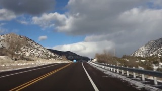 Driving on New Mexico's Singing Stretch of Route 66 - Video