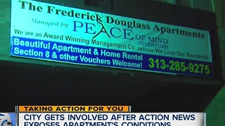 Frederick Douglas apartments ordered vacated - Video