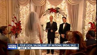 Bridal salons team up to raise money - Video