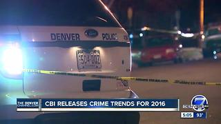 Major crime up in Colorado for second straight year - Video