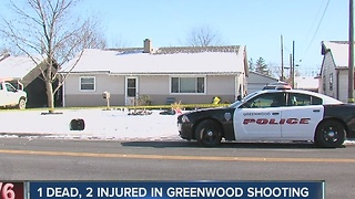 3 shot, 1 dead in Greenwood; several people in custody - Video