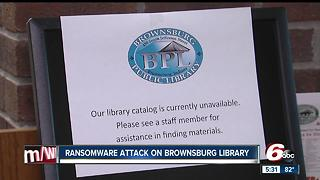 Brownsburg Public Library recovering after ransomware attack - Video