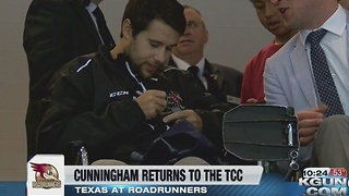 Craig Cunningham returns to Tucson Arena - Video