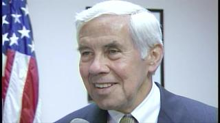 FROM 2001: Former Indy Mayor Dick Lugar: Market Square Arena gave Indy new vitality - Video