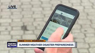 Summer weather disaster preparedness - Video