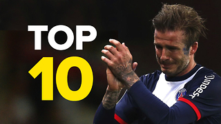 10 Unforgettable David Beckham Moments - Video