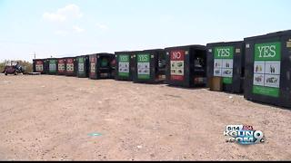 City closes recycling centers to curb illegal dumping - Video