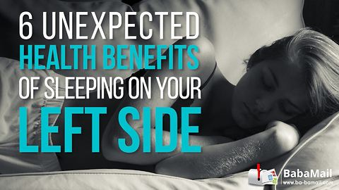 6 Unexpected Health Benefits of Sleeping on the Left Side