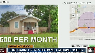 Fake online listings becoming a growing problem - Video