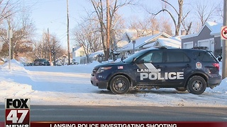 Lansing police have shooting suspect in custody