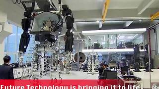 Korean company creates revolutionary robot - Video