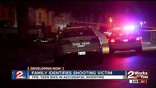 Teen dies in accidental shooting - Video