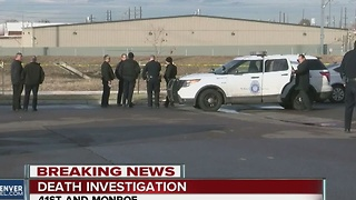 Death investigation in north Denver - Video