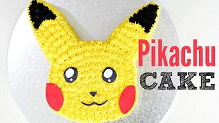 Pokemon pikachu cake - Video
