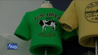U.S. Open merchandise tent features Wisconsin-made products - Video