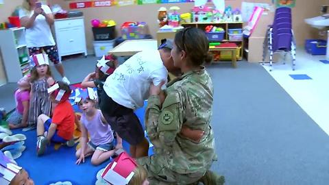 Mother surprises sons after serving 9 months in Afghanistan
