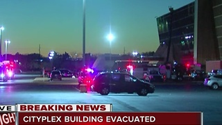 Cityplex Towers Building Evacuated - Video