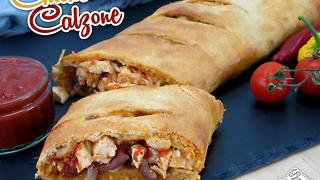 Delicious chicken calzone recipe - Video