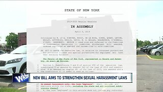 New bill aims to strengthen sexual harassment laws