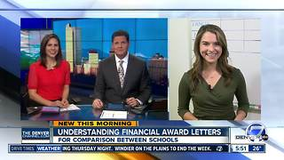 Understanding college financial award letters - Video
