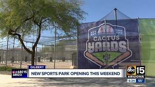 Gilbert re-opening troubled baseball park after takeover