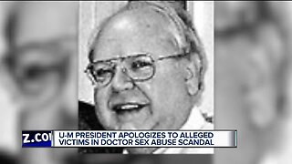 Another man accuses late U of Michigan doctor of sex abuse