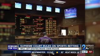 States given authority to make rules on sports betting - Video
