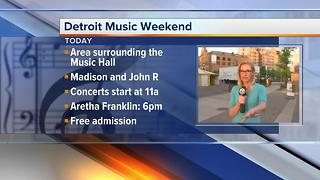 Detroit Music Weekend - Video