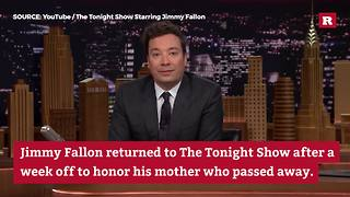 Jimmy Fallon honors his mother, Gloria | Rare People - Video