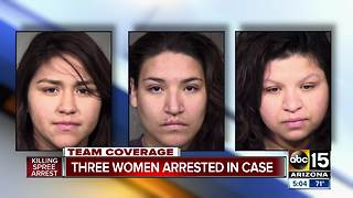 PD: 3 women accused of tampering with evidence - Video