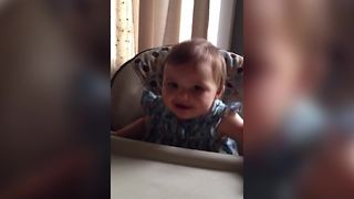 Try Not To Smile At This Contagious Laugh - Video
