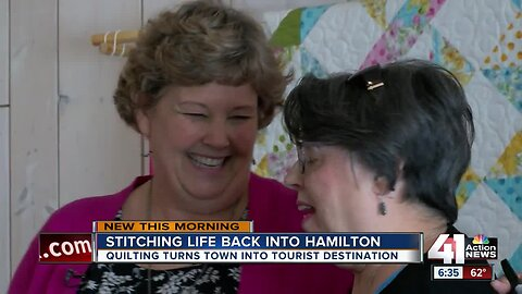 Hamilton woman turns her town into international destination