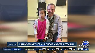 Raising money for childhood cancer research