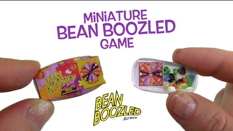DIY miniature jelly bean game