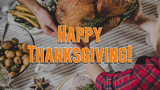 Happy Thanksgiving Greeting Card 2 - Video