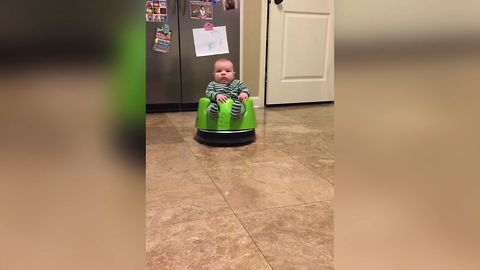 11 Cute Kids And Pets Riding Roombas